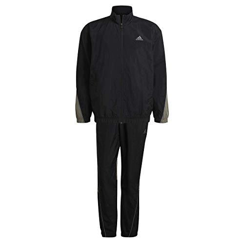 adidas Herren Metallic Trainingsanzug, Black, M