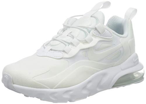 Nike Jungen Air Max 270 Rt (ps) Laufschuh, White White Metallic Silver White, 28 EU