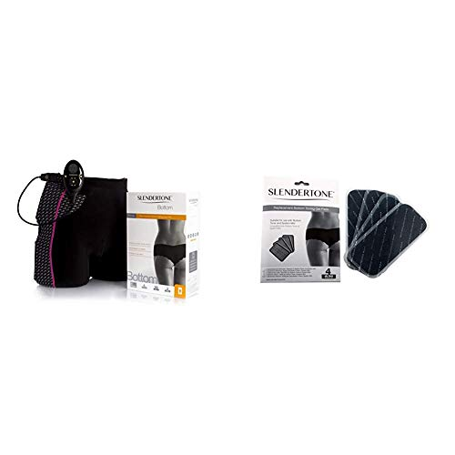 Slendertone Bottom Po-Trainer & Ersatzelektroden Gel-Pads Bottom Po-Trainer 4er Set
