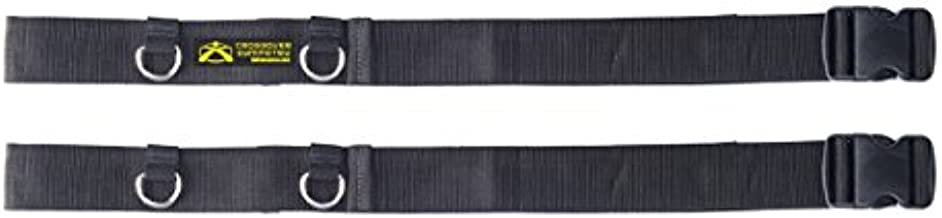 Door Belts - Compatible with Crossover Cord Shoulder Resistance Bands - One Pair - Crossover Symmetry