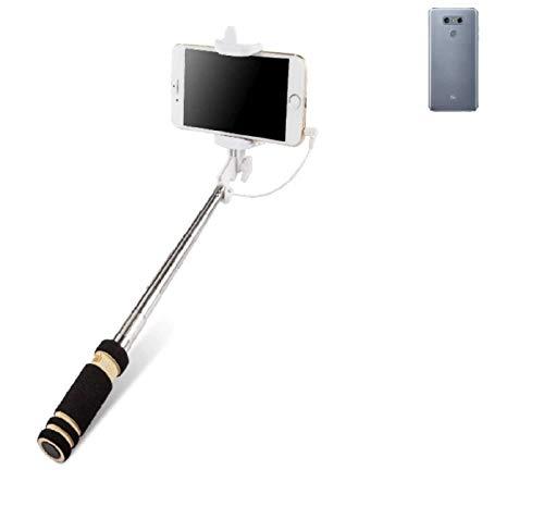 Selfie Stick per LG Electronics G6, nero, Monopiede, asta telescopica, Autoritratto