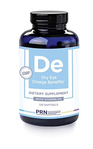PRN Physician Recommended Nutriceuticals Dry Eye Omega Benefits, Dry Eye Relief, 1680mg EPA 560mg DHA Triglyceride Form Omega 3