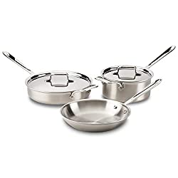 Image of stainless steel pans