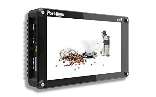 PortKeys BM5 II 4K High Brightness Touch Screen Camera Control Monitor with LUT for...