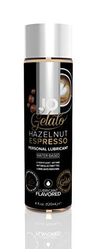 System Jo Gelato Personal Lubricant, Hazelnut Espresso, 4 Ounce