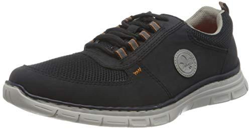 Rieker Herren B4820 Sneaker, blau, 43 EU