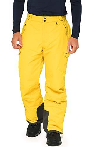 ARCTIX Snow Sports Cargo Pants Pantalones para Nieve, Hombre, Amarillo bambú, Small (29-30W 32L)