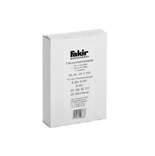 Fakir Micro-Vliesfilter für Bodenstaubsauger S 200 / S250 / S 350