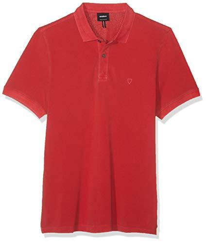 Strellson Premium Herren J-Ping-P Poloshirt, Rot (Medium Red 615), (Herstellergröße: M)