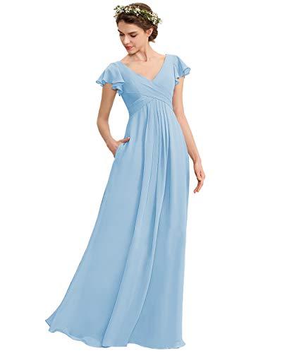 Macys Light Blue Wedding Dress With a Train Off the Shoulder Light Blue Macys