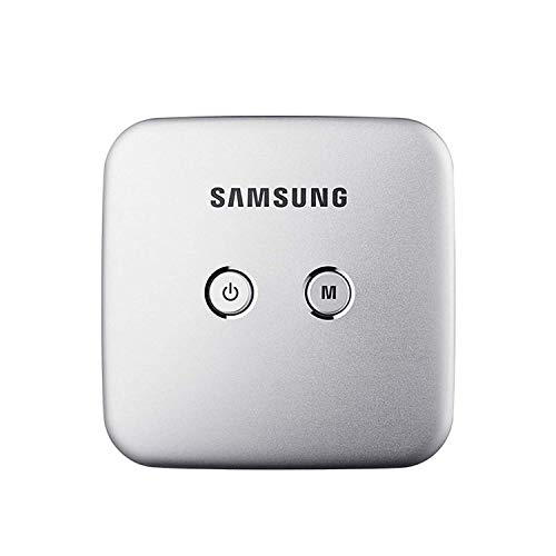 Samsung Smart Beam Portable Mini Projector (SSB-10DLFN08 Silver) Wi-Fi Connection, Screen Mirroring (Samsung Smart View App), 4000mAh Battery