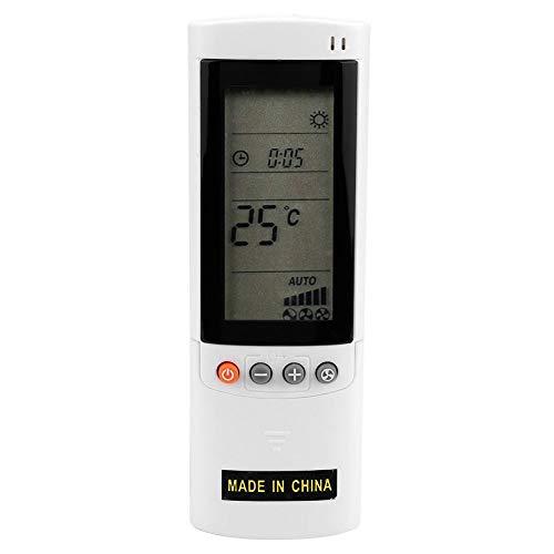 Sorand Telecomando per climatizzatore, Telecomando per climatizzatore ABS Telecomando sostitutivo Pratico Adatto per Airwell Electra Gree A415 / rc08b RC08A, Consumo Stabile/Basso consumo
