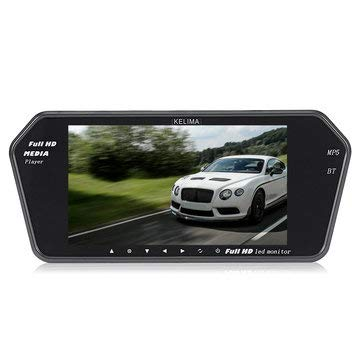 WZhen Kelima Car Mp5 Player Display Y Infrared Night Vision License Plate Camera Support Bluetooth Cod