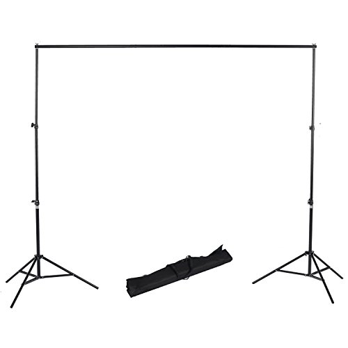 RPGT 2m x 2.8m / 6.5x 9 Inch Background Stand Support System Kit for Backdrops