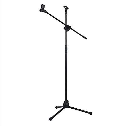 Power Banks statief microfoonstandaard universeel verstelbare hoogpresterende lichte professionele compacte uittrekbare podiumstudio vloer staande boom microfoonhouder