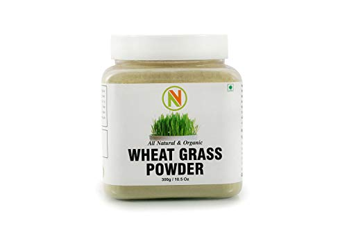 Nature Vit Wheatgrass Powder, 300 g (Jar Pack)