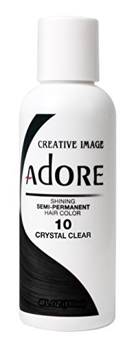 Adore Shining Semi Permanent Hair Colour, 10 Crystal Clear by Adore