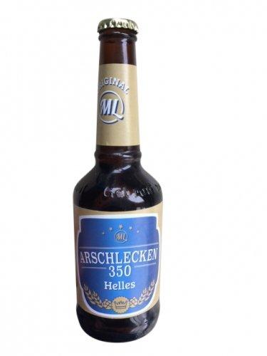 Arschlecken 350 Original ML Helles in 0,33 Liter Flasche Alc.5,2% vol. (12)