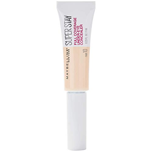 Maybelline New York Super Stay Under-Eye Concealer, 10 Fair, 22 G