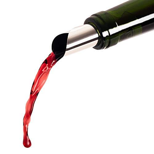 Blumtal Salvagoccia Vino, Antigoccia Vino, Versatore Bottiglia di Vino, Riutilizzabile, Set da 18 pezzi