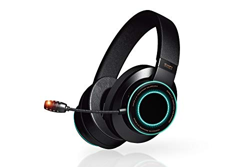 Creative SXFI Gamer USB-C Gaming Headset with Pro-Grade ANC CommanderMic, Super X-Fi Battle Mode Optimized for Action RPG and FPS on PC, PS4 and Nintendo Switch
