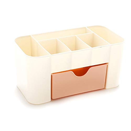 Caja De Almacenamiento,Caja para Cosméticos,Organizadores Cosméticos para joyería Peines Pendientes Maquillaje,Caja de Almacenamiento de cajones de 3 Colores