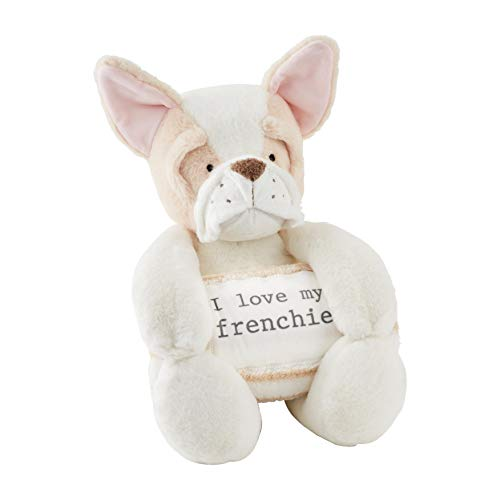 Frenchie Plush with Blanket