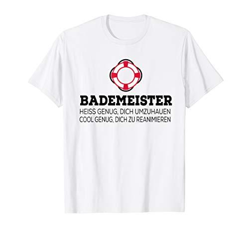 Herren Bademeister T-Shirt