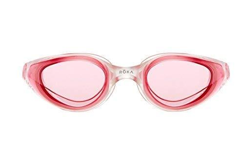 ROKA R1 Anti-Fog Swim Goggles with RAPIDSIGHT Razor Sharp Optics - Cobalt