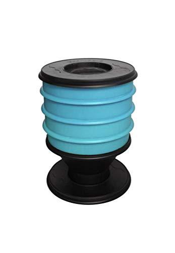 Eco-Worms - Lombricomposteur Coloris Bleu Turquoise