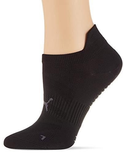 PUMA Womens Women's Studio Sneaker-Trainer (1 Pack) Casual Sock, Black, 39/42