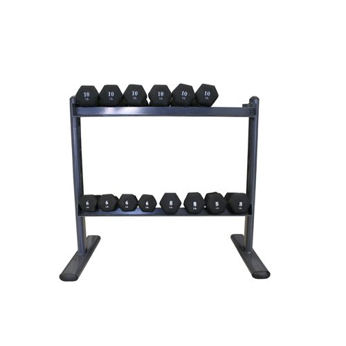AMBER Sports Space Saver 2-Tier Dumbbell Rack