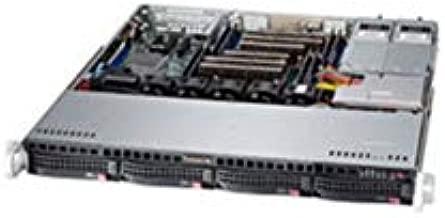 Supermicro SuperChassis 440W/480W 1U Rackmount Server Chassis CSE-813MFTQ-R400CB Black