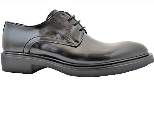 Luis Gonzalo 1966- Zapatos de Hombre Derby 7112H (Negro, Numeric_39)