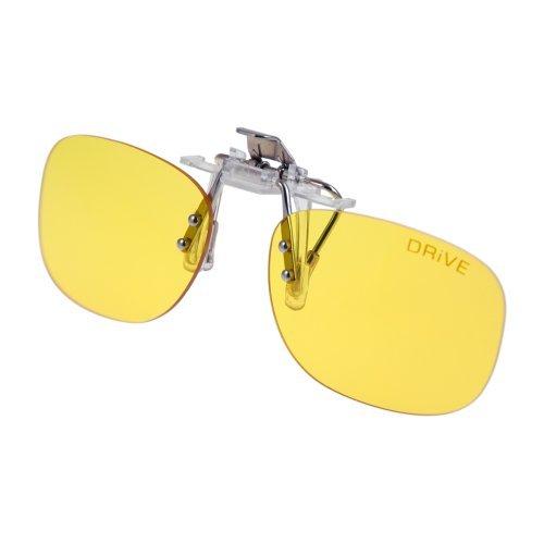 Autofahrer CLiP-ON Drive Day&Night - Blueblocker-Brille - für Brillenträger - Anti Blaulicht Blocker PRiSMA Markenqualität von Innovative Eyewear