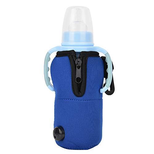 Reisauto Babyfleswarmer, Autovoedsel Melk Water Drinkfles Cup Flessenwarmer Verwarmer, Babyvoeding Thermische Warmer Tas