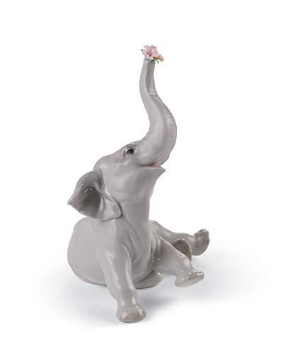 LLADRÓ Baby Elephant with...