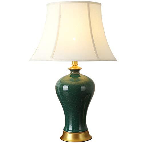Lampe de table en céramique chambre lampe de chevet salon lampe de table
