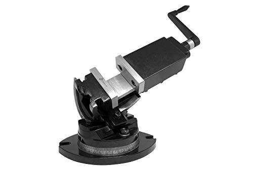 PAULIMOT 3-Achsen Maschinen-Schraubstock 82 mm Backenbreite 360° drehbar