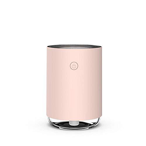ZLDFAN 200ml Wassertank, leiser Betrieb, Mini Luftbefeuchter Cool Mist für Baby, Schlafzimmer, Zuhause, Büro-Maca Red