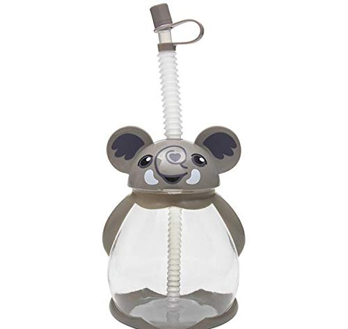 New DollarItemDirect 16 oz Elephant Sippy Cup, Case of 50