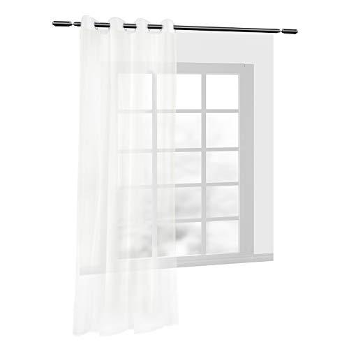 cortinas dormitorio crema