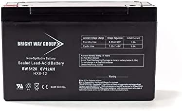 Bright Way Sale special price Replacement Battery for Batt In a popularity Power SLA1271 Patrol SLA