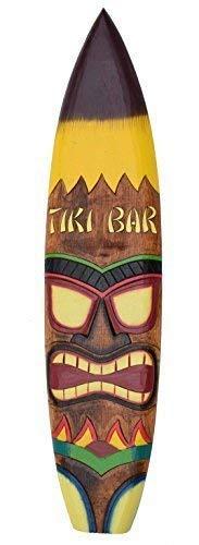 Interlifestyle Tabla de Surf 100cm Tiki Barra Tiki Decoración para Colgar Lounge Estilo