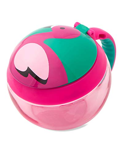 Skip Hop Toddler Snack Cup, Flamingo
