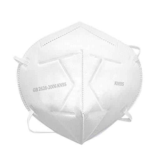 Wtouhe Máscara Antipolvo para niños, PM2,5, máscara anticontaminación de carbón Activo, máscara para Respirar con Filtro de Aire para Correr, Ciclismo 10pc