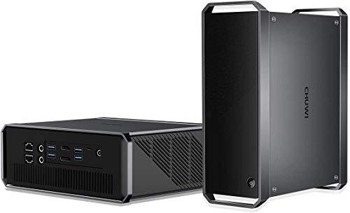 CHUWI CoreBox ProミニPC Core i3-1005G1 小型PC メモリー LPDDR4 12GB 256GB SSD プロセッサー Windows10 HDMI DCポート4K UHD高速2.4G/5GWi-Fi, BT5.1 USB 3.0 搭載 ファン二つ 最大3.4GHz 静音 Mini PC