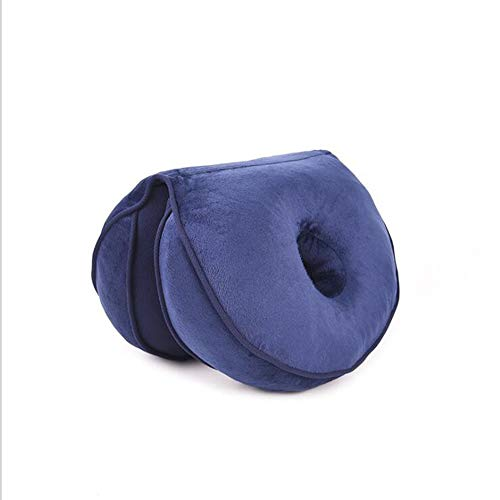 Farzeo ademende holle kussen, bureaustoel kussen geheugen schuim comfortabele zachte heupen juiste houding om vorm S-Shaped lichaam te verlichten bekken druk