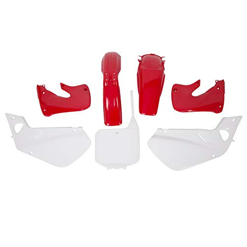 Red Plastic Kit Compatible With 1997 1998 1999 CR250 CR250R Honda