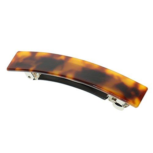Hellery Mode Acetat Leopard Große Haarspange Pin Frühling Haarspange Haarschmuck - Braun